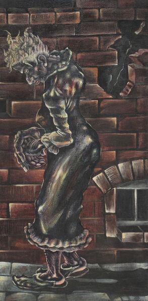 John Thomas Biggers, 'Victim of the City Streets #2', 1946
