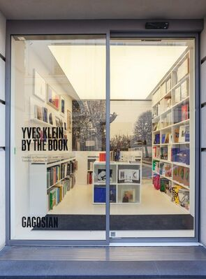 Yves Klein: By the Book, installation view