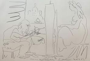 Pablo Picasso, 'Le Peintre et son Modèle ', 1962