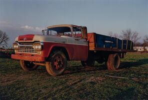 William Eggleston, 'Untitled [Farm Truck Memphis Tennessee]', 1972