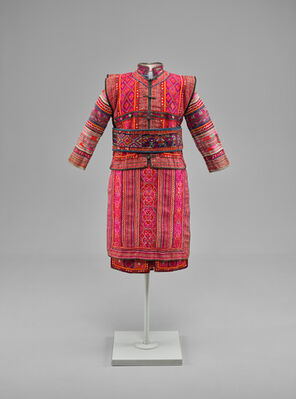 Ceremonial Dress from Southwest China: The Ann B. Goodman Collection, installation view