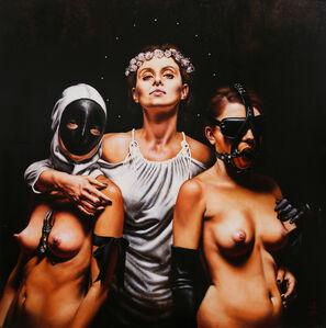 Saturno Butto, 'L'Arte e le Due sue Sorelle', 2010