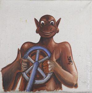 Jörg Immendorff, 'Malerauto', 1989
