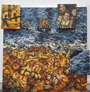 Amanda Santos, 'Exodus (Shore of Life Vests)', 2017