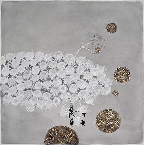 "Crystal Liu, 'the flowers, ""orbiting""', 2015"
