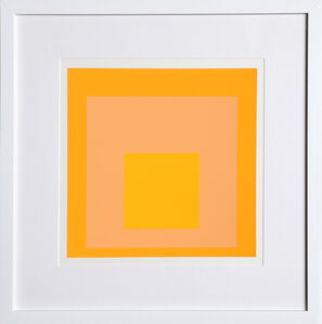 Josef Albers, 'Homage to the Square, Portfolio 2, Folder 17, Image 2', 1972