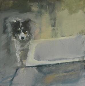 Alin Bozbiciu, 'Composition with dog', 2013