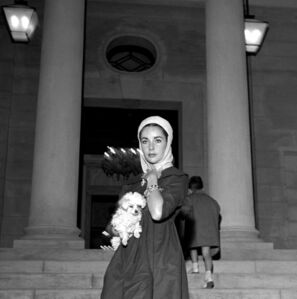 Edward Quinn, 'Elizabeth Taylor, Saint Jean Cap Ferrat ', 1957