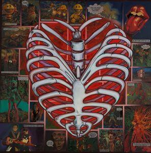 Ron English, 'Ribcage Heart', 2018