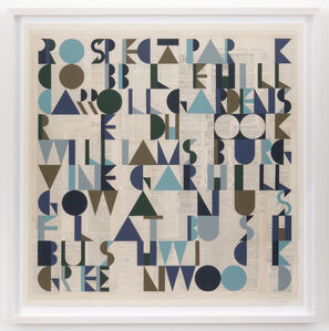 Evan Hecox, 'Brooklyn Ten print', 2015