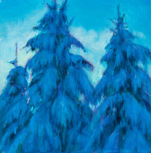 Jim Schantz, 'Winter Pine Study', 2020