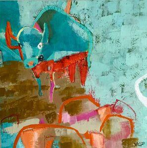 Vikki Drummond, 'BIG BLUE I', 2016
