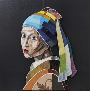 Abelardo Hernandez, 'Girl with a Pearl Earring', 2016