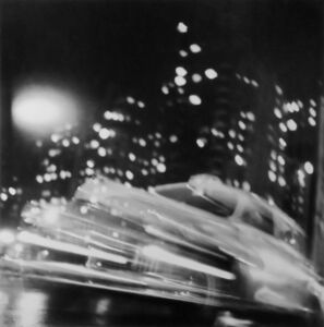 Ted Croner, 'Taxi, New York, Night'