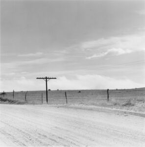 Robert Adams (b.1937), 'Near Peyton, Colorado', 1968