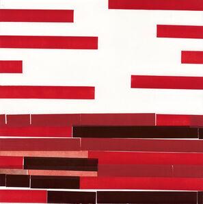 Diane Fine, 'Red Number 8', 2015