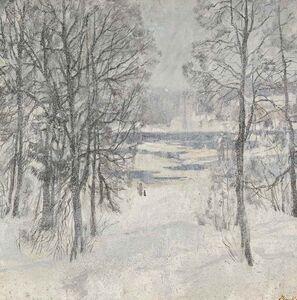 Sergei Chepik, 'Winter Snow', 1980