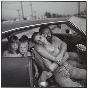 Mary Ellen Mark, 'The Damm Family in their car', 1987