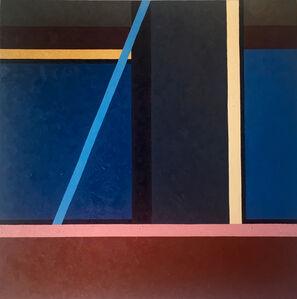 Roger Winter, 'Blue Line', 2019