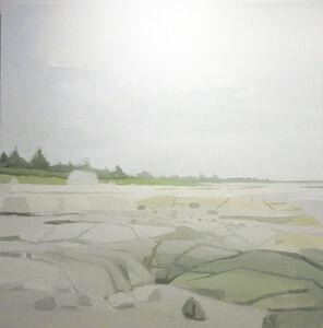 Sara MacCulloch, 'Beach and Rocks', 2016