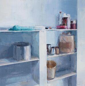 Chelsea James, 'Painter's Bookshelf', 2014