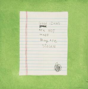 Squeak Carnwath, 'Good Ideas', 2006