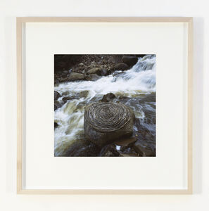Andy Goldsworthy, 'Reworked sticks in river boulder, Hunter Creek, Colorado, May 2006', 2006