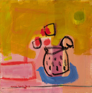 Chloe Lamb, 'Spotty pot', 2018