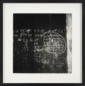 Franco Vaccari, 'Senza titolo (Tracce)', 1963
