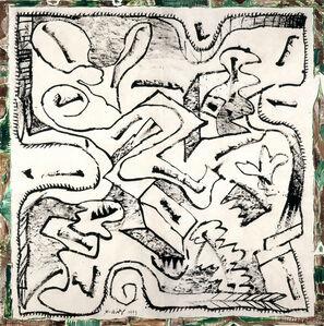 Pierre Alechinsky, 'Intra muros', 1999