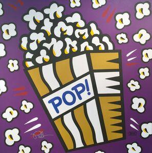 Burton Morris, 'Pop! (Deep Purple)', 2017
