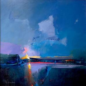 Peter Wileman, 'Breaks Slowly, The Cobalt Reefs of Night', 2018