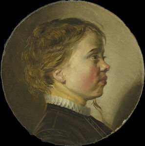 Judith Leyster, 'Young Boy in Profile', ca. 1630
