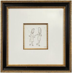 William Anthony, 'Dance With Me, Caricature Drawing', 1980-1989