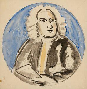 Vanessa Bell, 'Design for Plate: Jonathan Swift', 1931
