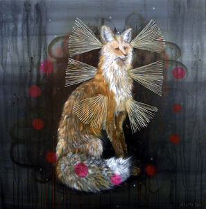 Anne Siems, 'Magic Fox'