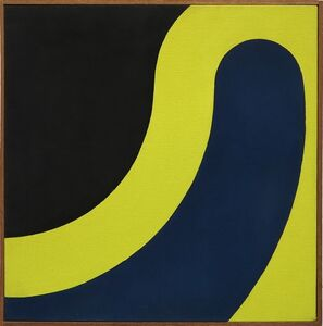 Thomas Downing, 'Yellow Sling', 1961