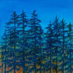 Jim Schantz, 'Winter Twilight Pines', 2020