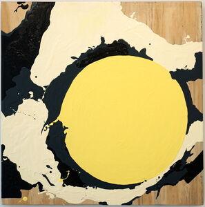 Guido Ignatti, 'Eclipse de yema de huevo con bocha de crema de vainilla', 2018