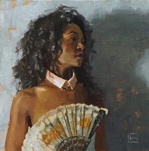 Linda Adair, 'Lady with Fan', 2019