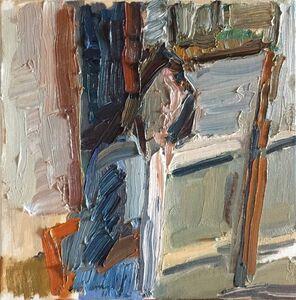 Matthew Collings, 'Emma Biggs Painting', 2018