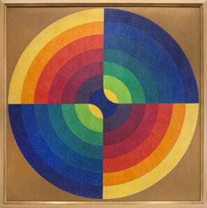 Herbert Bayer, 'Chromatic Intersection', 1966