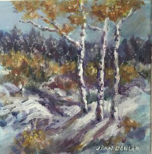 Jean Bowler, 'Birches', 2020