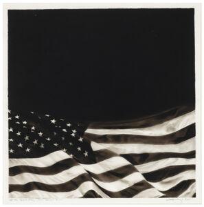 Robert Longo, 'Study of Black Flag - For Howard Zinn', 2015