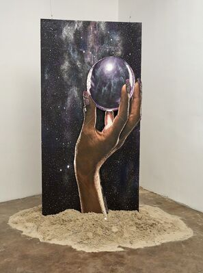 Sarah Cromarty: Studies for a Bigger Picture #HANDSINTHEDARK #WeDidntStartTheFire, installation view