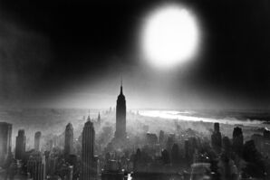 William Klein, 'Atom Bomb Sky, New York', 1955
