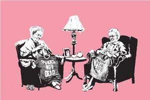 Banksy, 'Grannies', 2006