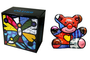Romero Britto, 'HAPPY BEAR (FIRST EDITION)', 2008