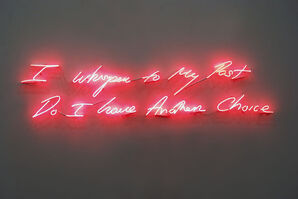 Tracey Emin, 'I Whisper to My Past, Do I have Another Choice', 2010