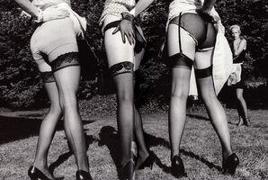 Ellen von Unwerth, 'Leg Show, Rouilly le Bas, 2002'